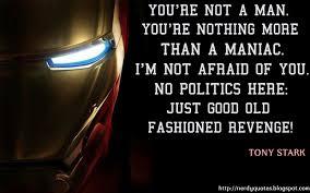 Quote Of Iron Man 3 Quotesaga
