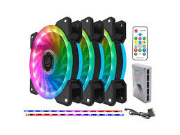 <b>ALSEYE</b> Case <b>Fan</b> RGB Computer <b>Cooler 120mm</b> High ...