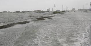 Massive Storm Surge Swallows Surfside Beach Houston Chronicle