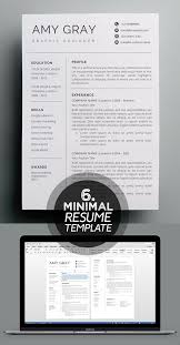 Minimalist Resume Template Inspiration Professional Resume Template Cleanresume Minimaltemplate