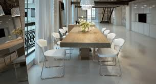 Contemporary Extendable Dining Table With Three Color Options St