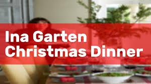 Whose carrot cake is better? Ina Garten Christmas Dinner Youtube