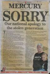 sorry apology to stolen generations creative spirits national apology mercury tasmania