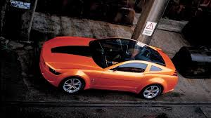 ford mustang top view. top view of an orange ford mustang wallpaper g