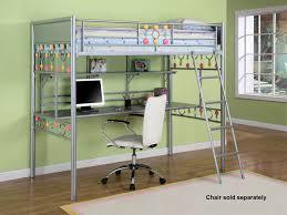 painting of ikea full loft bed ideas