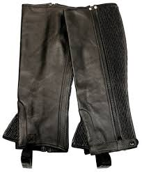 Tuffrider Plus Rider Full Grain Half Chaps Ladies