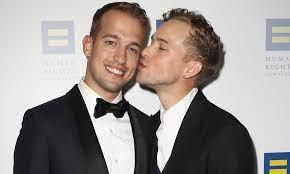 Tommy Dorfman & Husband Peter Zurkuhlen ...