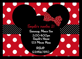 Free Minnie Mouse Birthday Invitations Minnie Mouse Party Invitation Template Magdalene Project Org