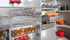 custom pantry organizer with pullout pantry shelving accessories and country farmhouse feel with pantry shelving