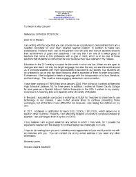 Writing A Cover Letter For An Esl Teaching Position Adriangatton Com