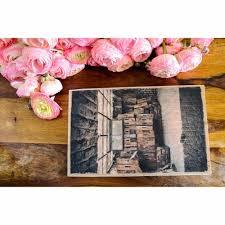 Das Fenster Holzkisten Holzdruck Foto Auf Holz Wanddeko Shabby