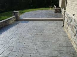 concrete patio vs pavers outdoor area using with square stone rhcom why choose rhegdesignsnet why stamped