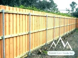 setting wood fence post best way to install wood fence posts how wooden installing a steel