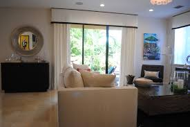 window treatments sliding glass doors family room contemporary with arched window fashions bay image by kathryn interiors inc
