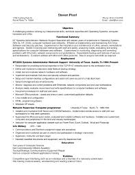 Sample Resume Format For Experienced It Professionals Valid Sample