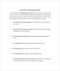 Autobiography Example Essay How To Write Essays Bio Template Writing