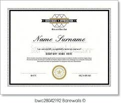 Certificate Design Templates Template Free Download New In