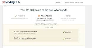 Lending Club Borrower Reviews Lending Club Slow Confusing Process With Absolutely No