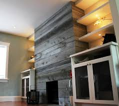 reclaimed wood fireplace wall reclaimed wood fireplace79