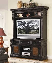 55 entertainment center. Beautiful Entertainment Telluride 71Inch Entertainment Console With Hutch In Distressed Black  Paint Finish By Hooker Furniture HF37055591 Throughout 55 Center A