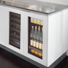 built in to stand out u line fridges wine coolers beverage centers ice makers