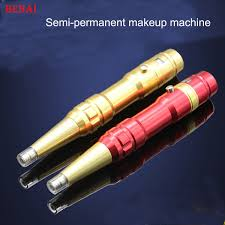 recharge tattoo machines permanent makeup pens for eyebrows lips body tattoo