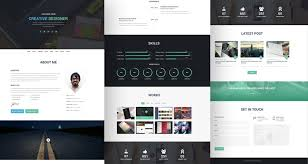 20 best free html resume templates to