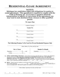 One Page Lease Agreement One Page Rental Agreement Template Business