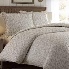 laura ashley victoria duvet cover set king taupe