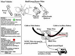 dual battery isolator kit installation instructions diagram wire connections for dual battery isolator kit