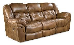 home motion cheyenne double reclining leather sofa saddle