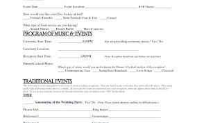 Order Of Events Wedding Template Reception Fresh Program Ord