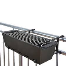 Designer Bbq Bbq Bruce Balcony Handrail Grill Black In 2019 Barbecue