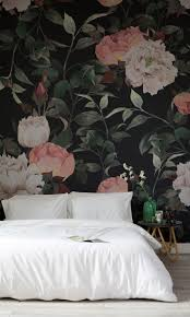 Pink Flower Wallpaper For Bedrooms 17 Best Ideas About Floral Wallpapers On Pinterest Baby Girl