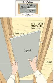 Drywall Basement Ceiling Joists Maohaus Pinterest Drywall - Finish basement walls without drywall