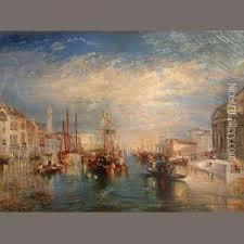 venice from the porch of madonna della salute oil painting joseph mallord william turner