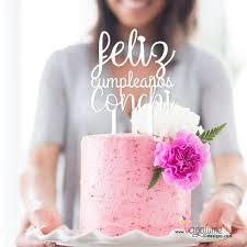 Customizable Birthday Cake Topper