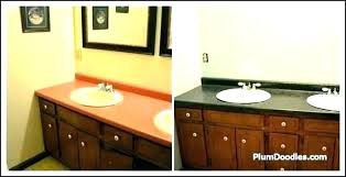 painting bathroom countertops covering resurface with laminate painting painting cultured marble bathroom countertops