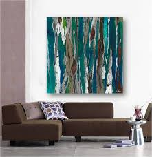 very large blue teal canvas print wall art abstract landscape on extra large wall art teal with very large blue teal canvas print wall art abstract landscape