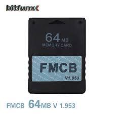 Bitfunx Giá Rẻ McBoot 64 Thẻ Nhớ Cho PS2 FMCB Thẻ Nhớ V1.953|card|card  cardcard memory - AliExpress