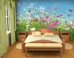 Purple Flower Wallpaper For Bedroom Purple And Green Bedroom Wallpaper Shaibnet