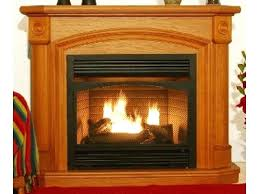 propane gas ventless fireplace corner ventless propane gas fireplaces