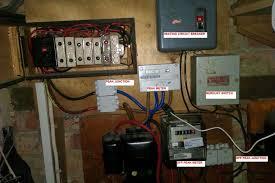 move feed from off peak meter to peak meter electrical job in photographs