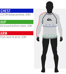 Sizing Charts Quiksilver