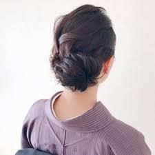 Moriyama Mamiさんのヘアスタイル 学祭でお着物を茶道部の方に
