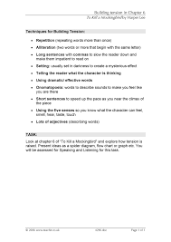 Ks4 Prose To Kill A Mockingbird By Harper Lee Teachit