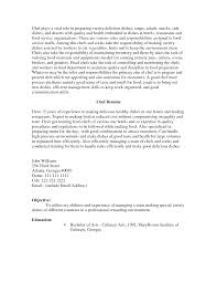 Sample Pastry Chef Cover Letter Stage Manger Resume With Regard