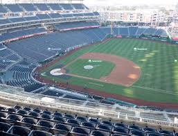 Nationals Seating Chart With Row Numbers Nationals Park Section 420 Seat Views Seatgeek