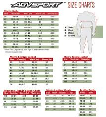 Agv Sport Glove Size Chart Images Gloves And Descriptions