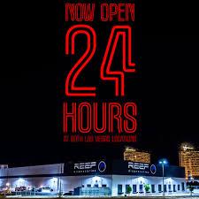 reef dispensaries flagship las vegas strip location now open 24 hours